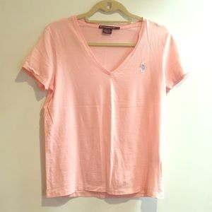 Ralph Lauren sport pink soft t shirt